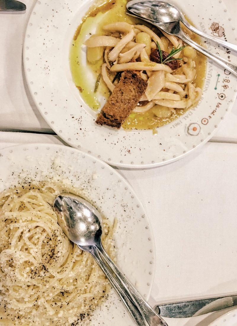 Travel blogger Meaghan Murray shares a food guide to Rome on her blog The Stopover