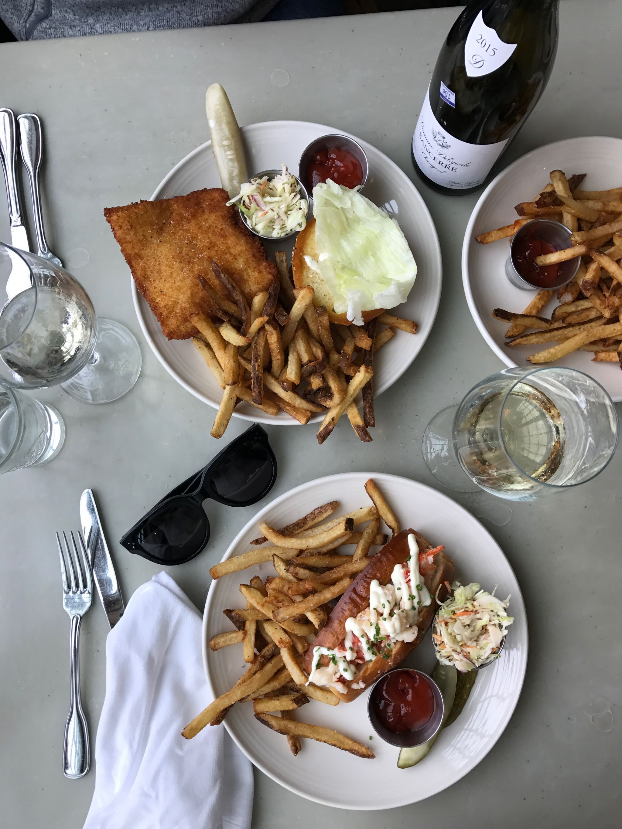 Travel blogger Meaghan Murray shares a restaurant review for Scales in Portland, ME on her blog The Stopover