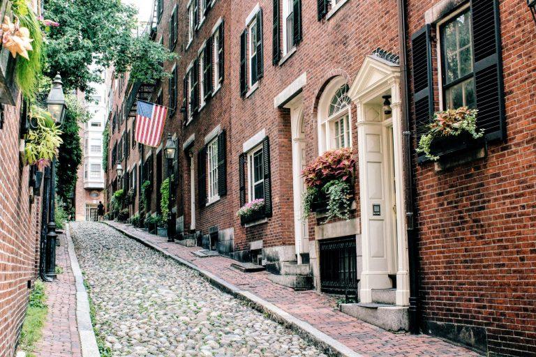 Acorn Street, Boston, MA   The Stopover