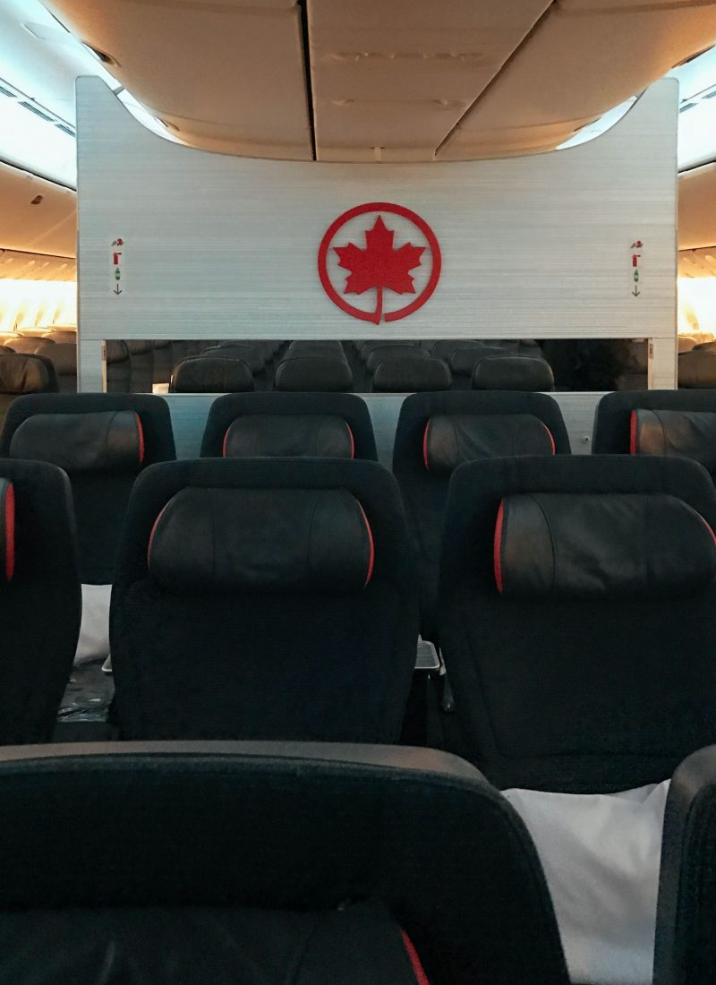 Air Canada Flight to Hong Kong | The Stopover