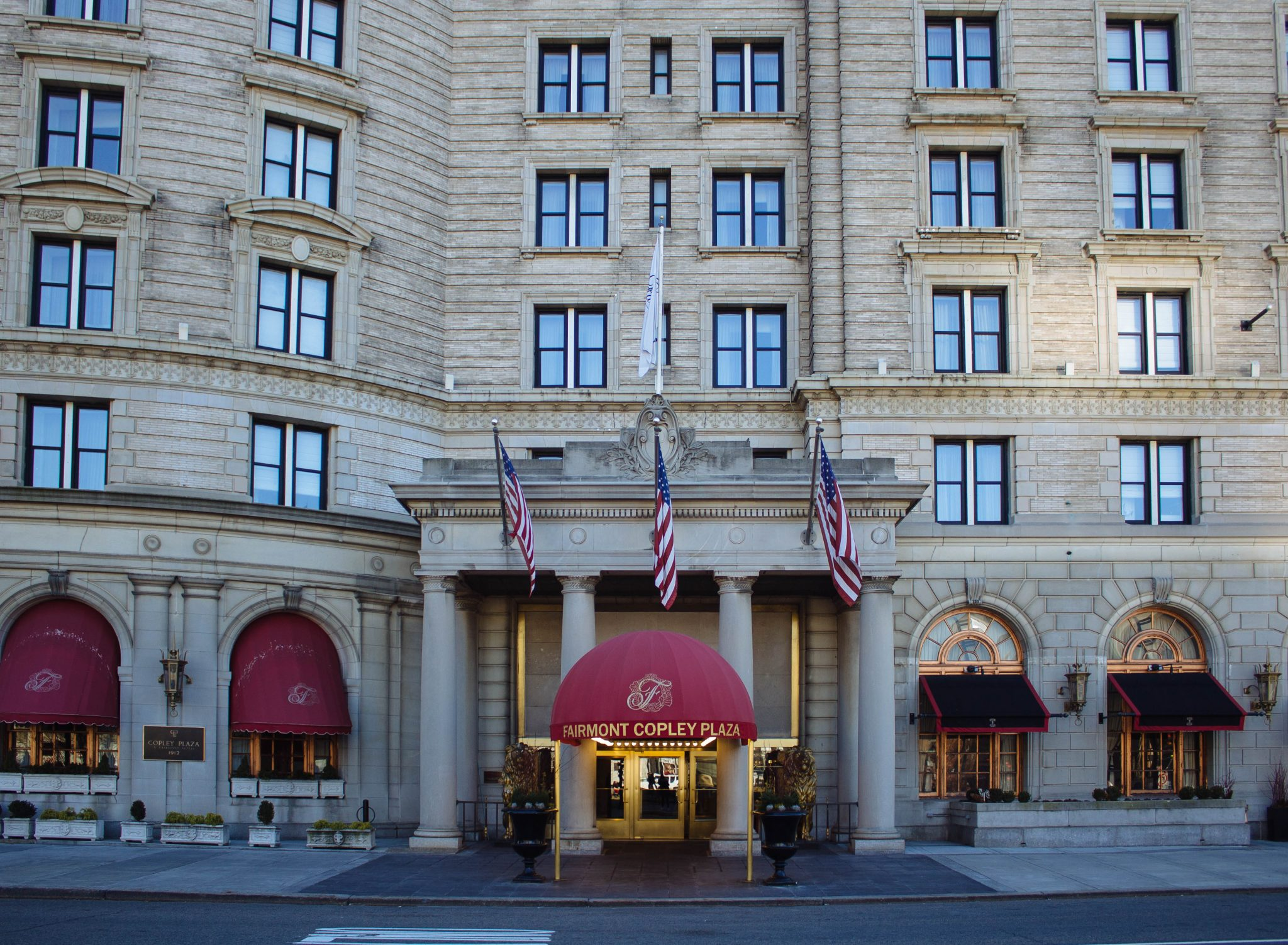 Fairmont copley plaza a boston hotel the stopover by for Historic hotels in boston
