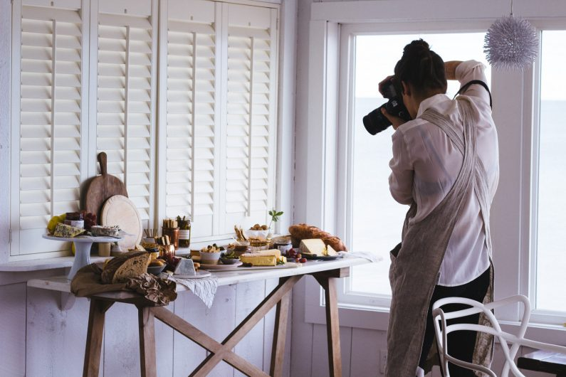 Food photography with Yankee Magazine