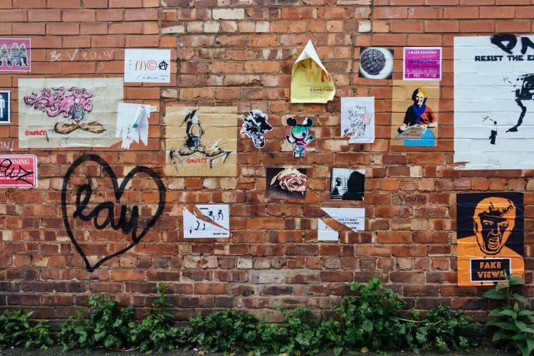 Manchester, U.K. Skyliner Street Art