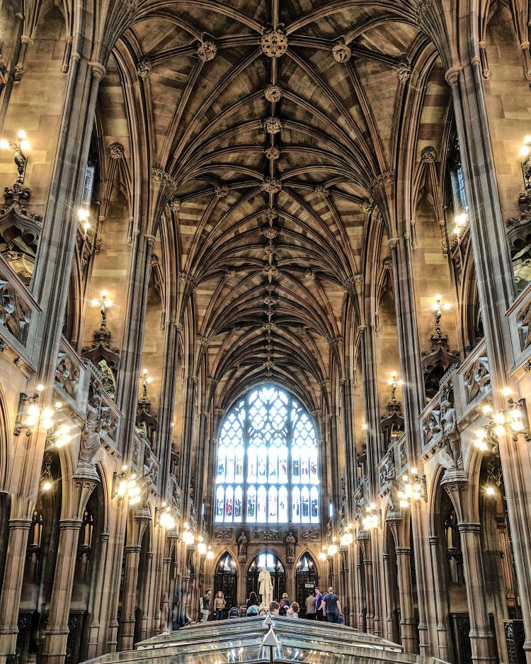The John Ryland Library Manchester UK