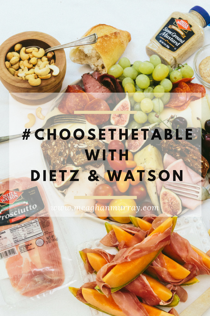#ChooseTheTable with Dietz & Watson | The Stopover by Meaghan Murray | www.meaghanmurray.com