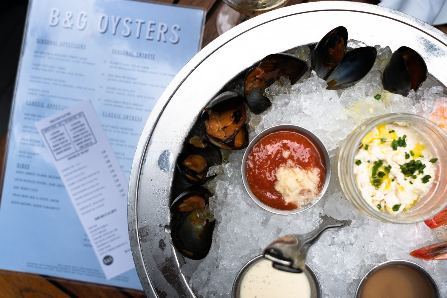 Where to eat: B&G Oysters