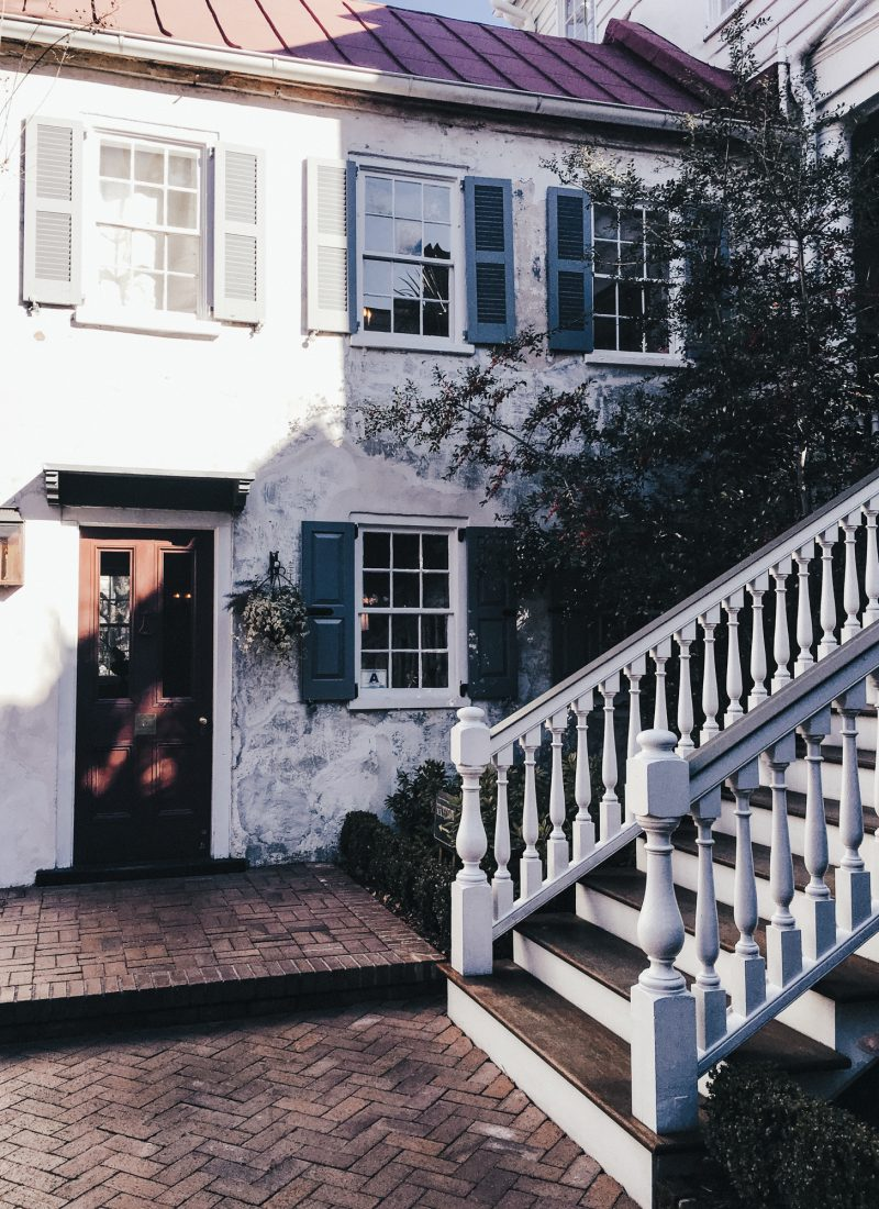 Where to stay: Zero George Street Charleston, SC