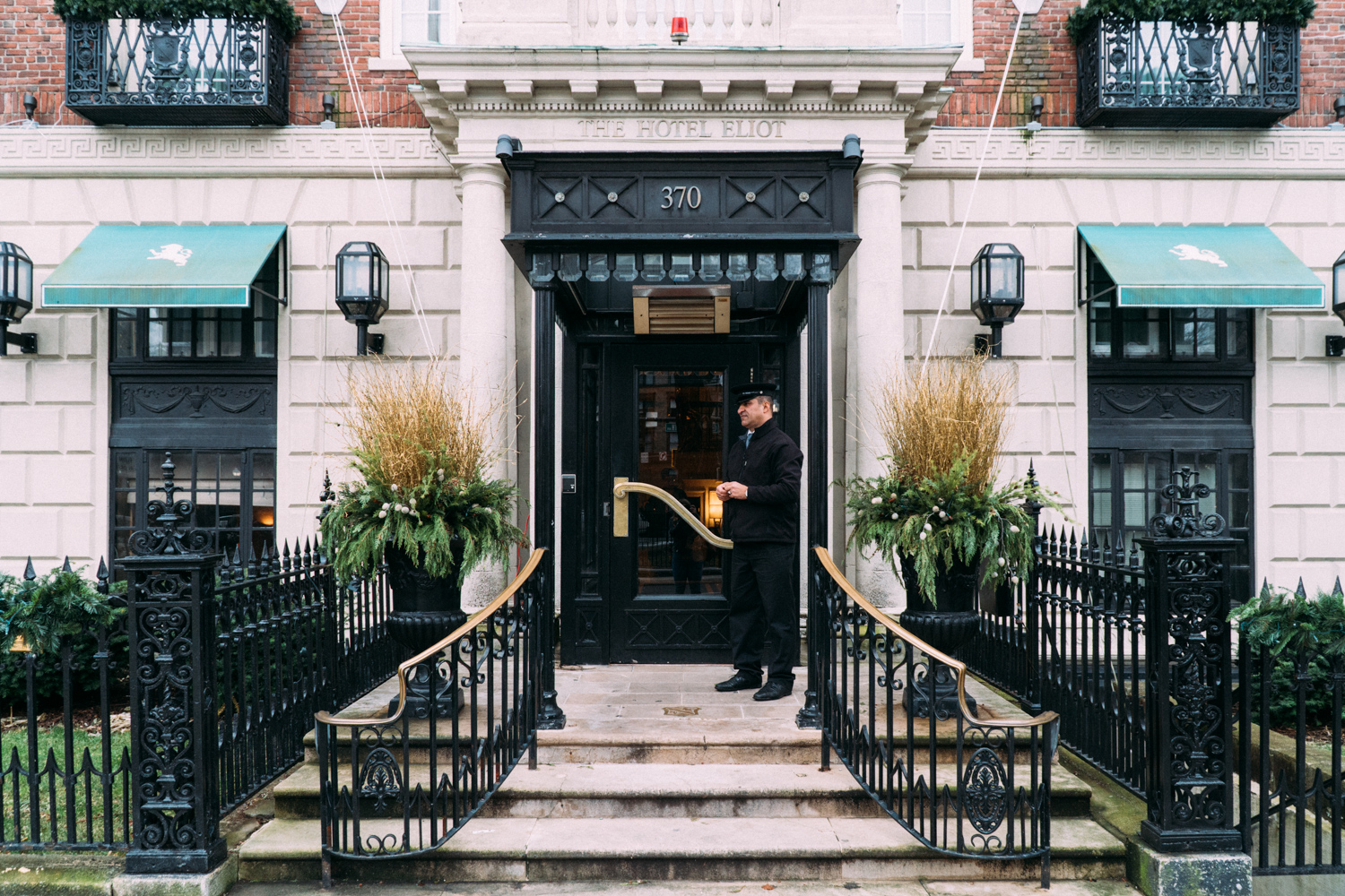 Where to stay: The Eliot Hotel in Boston, MA