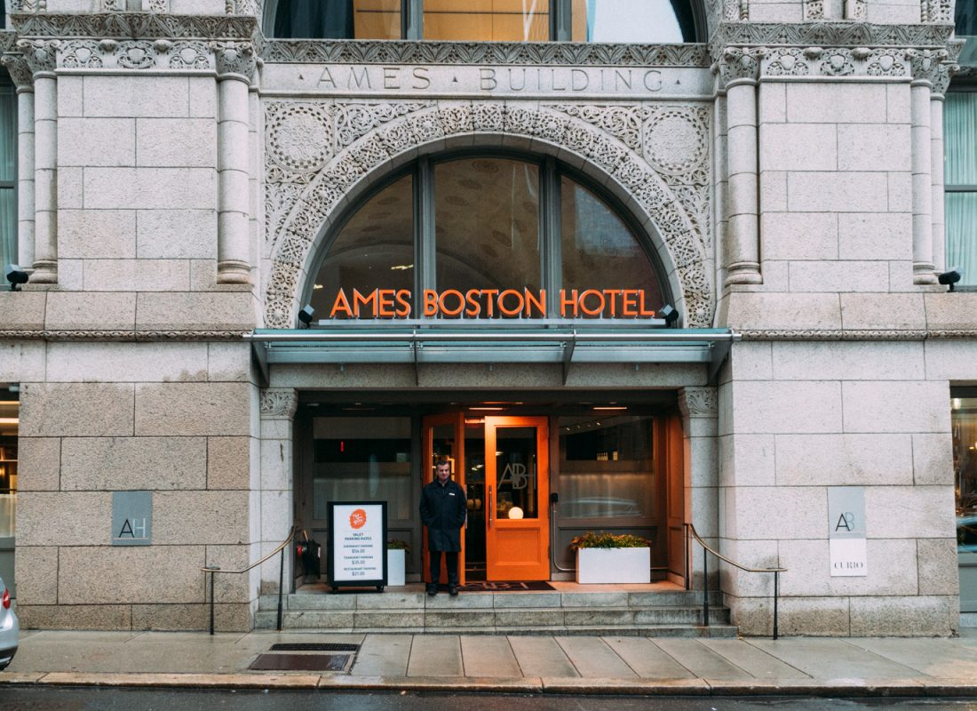 How to staycation like a foodie | Ames Hotel, Boston