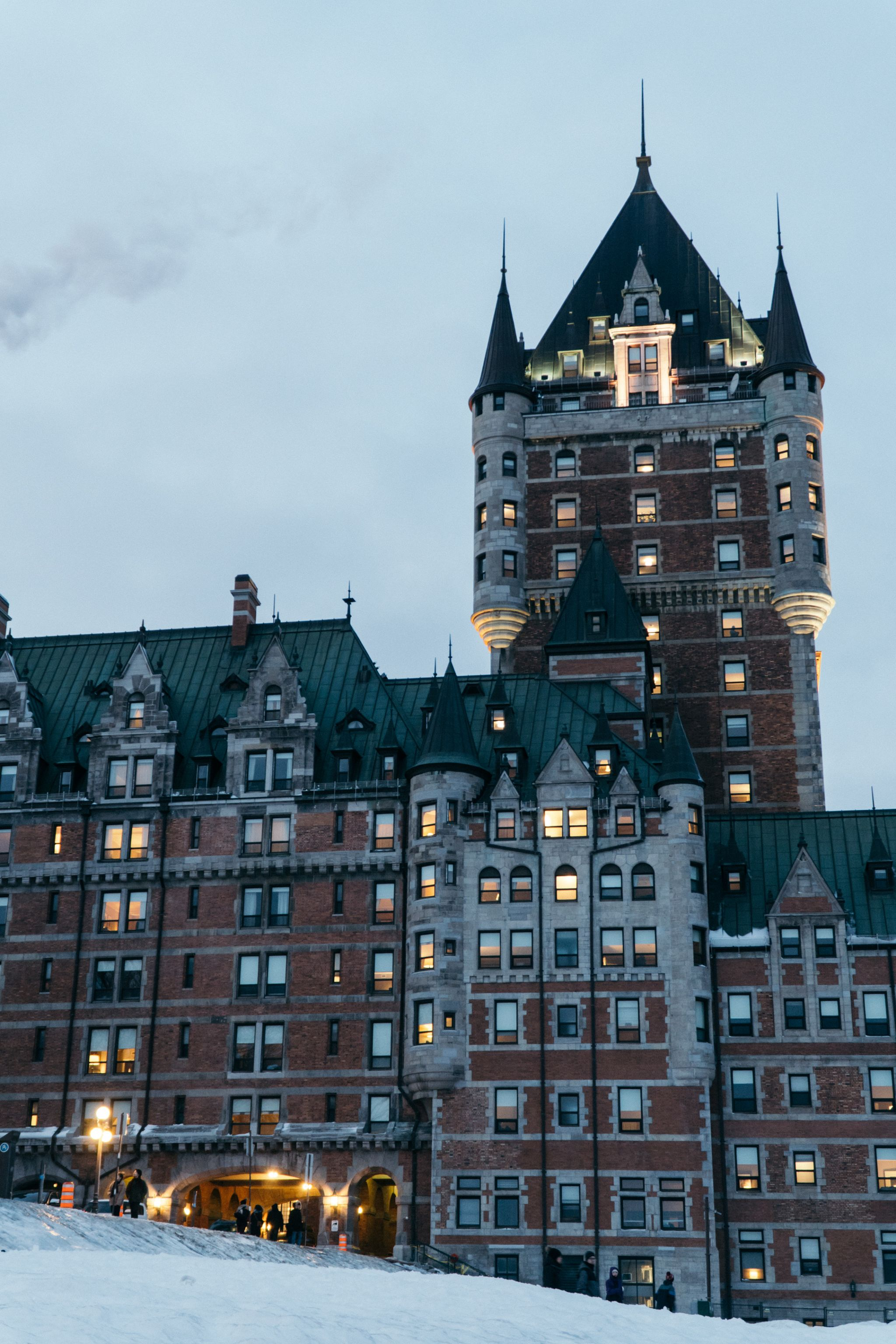 Where to stay: Fairmont Le Château Frontenac in Quebec City