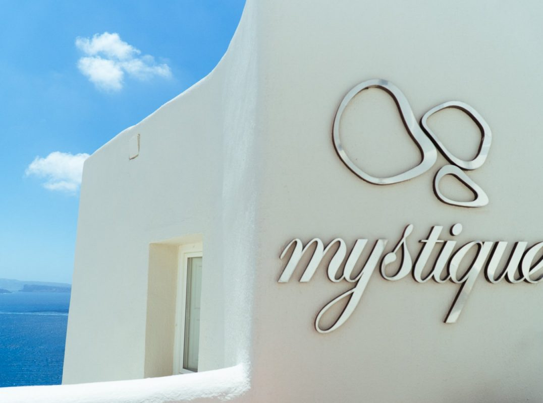 Travel blogger Meaghan Murray shares a restaurant guide for Mystique hotel in Santorini, Greece on her blog The Stopover