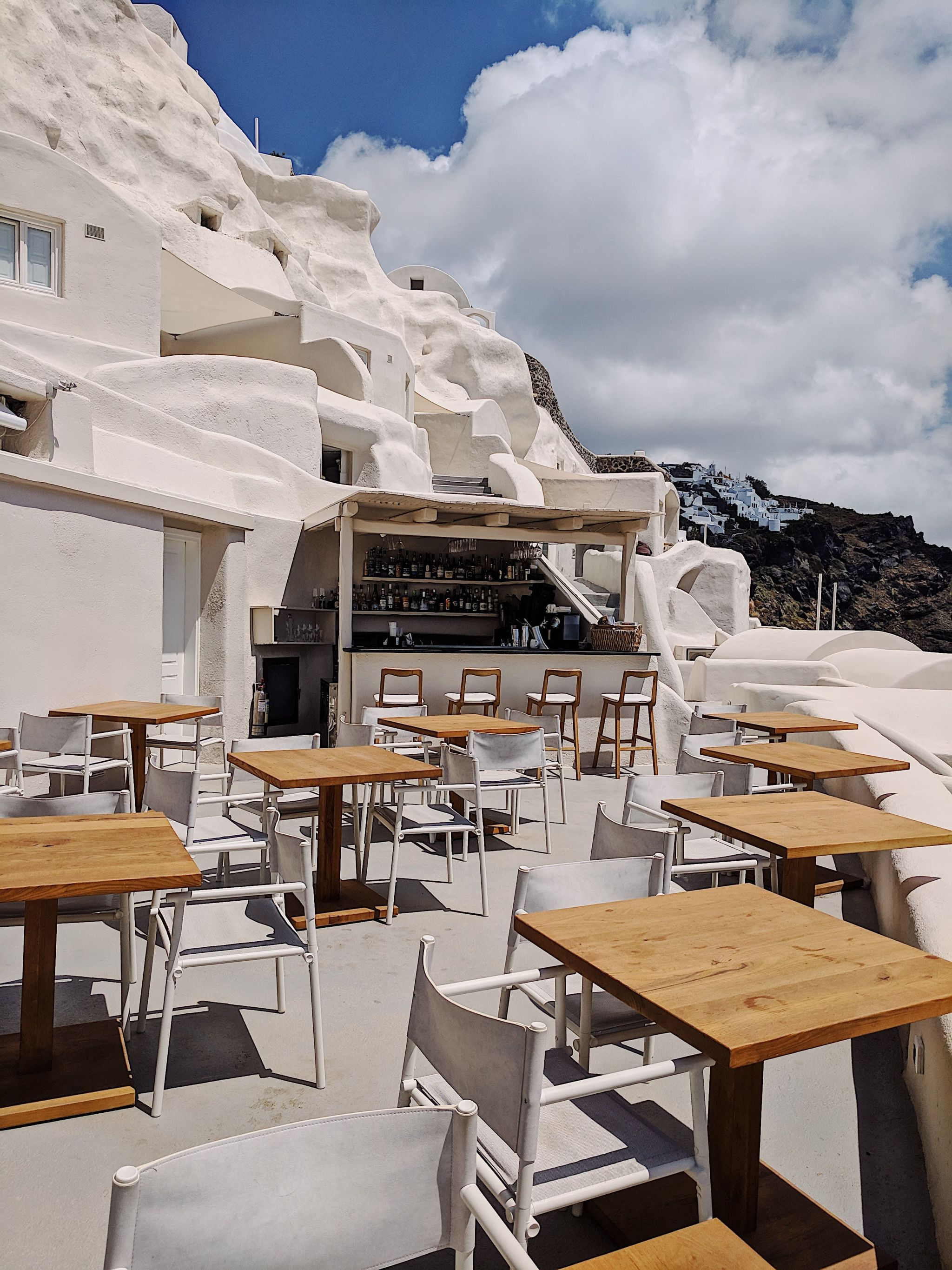 Where to eat: Mystique in Santorini, Greece