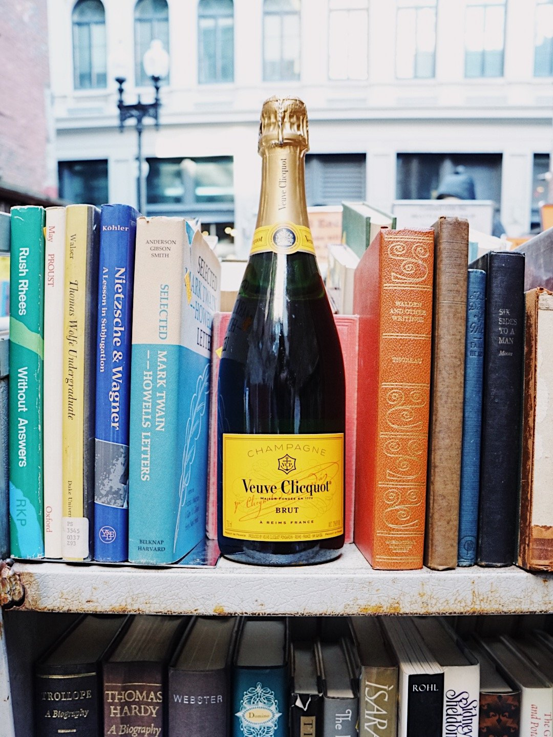 Food blogger Meaghan Murray shares an image from her partnership with Veuve Clicquot on her blog The Stopover