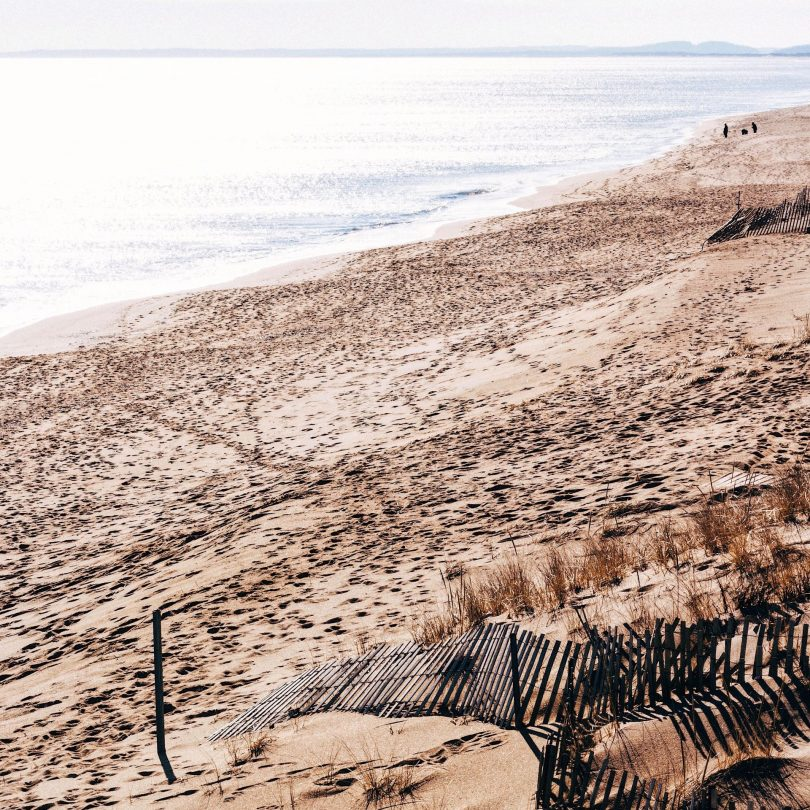 Travel blogger Meaghan Murray shares an image of Plum Island, MA on her blog The Stopover