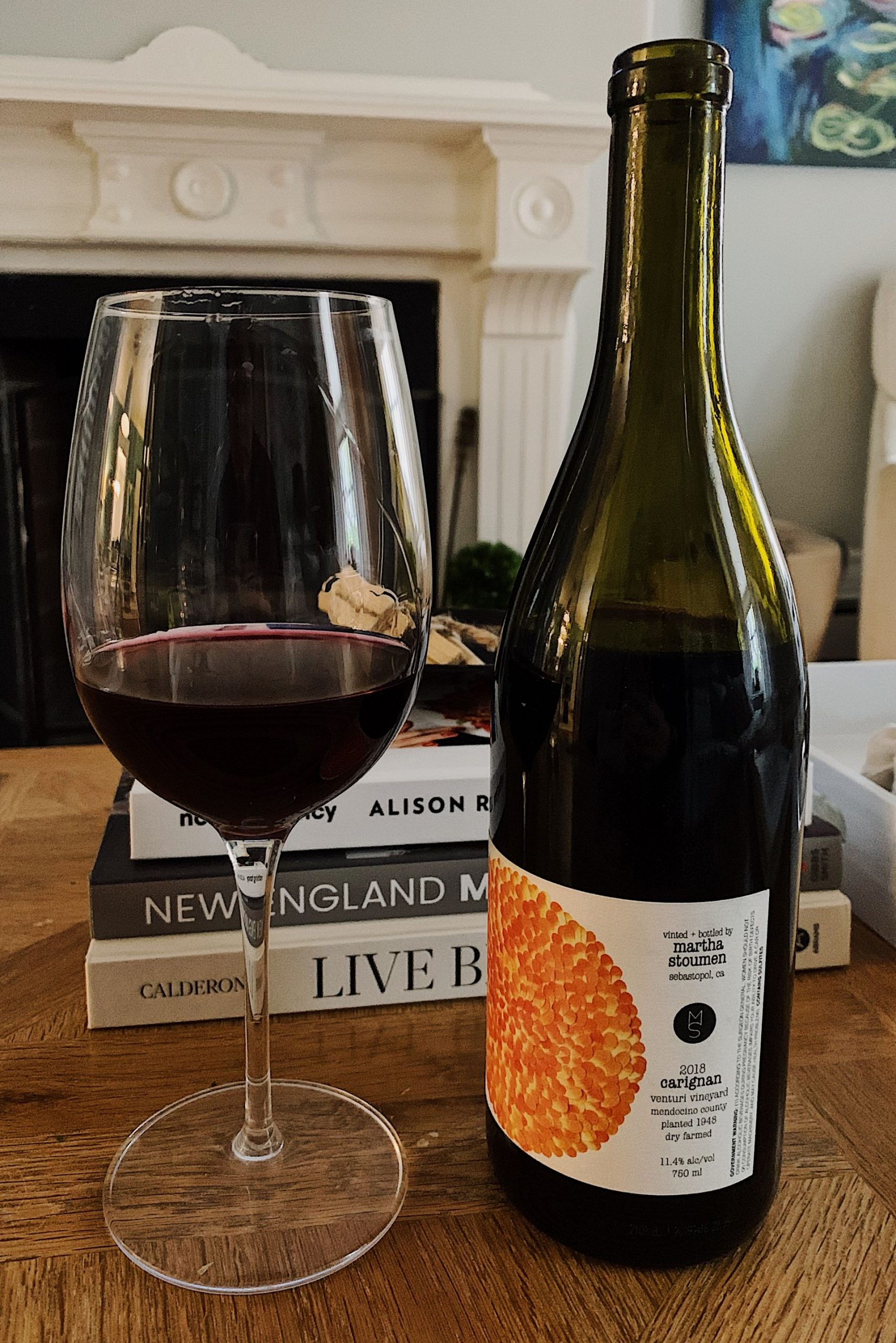 Martha Stoumen Carignan | Food blogger Meaghan Murray shares a post on her favorite wine during Summer 2020 on her blog The Stopover