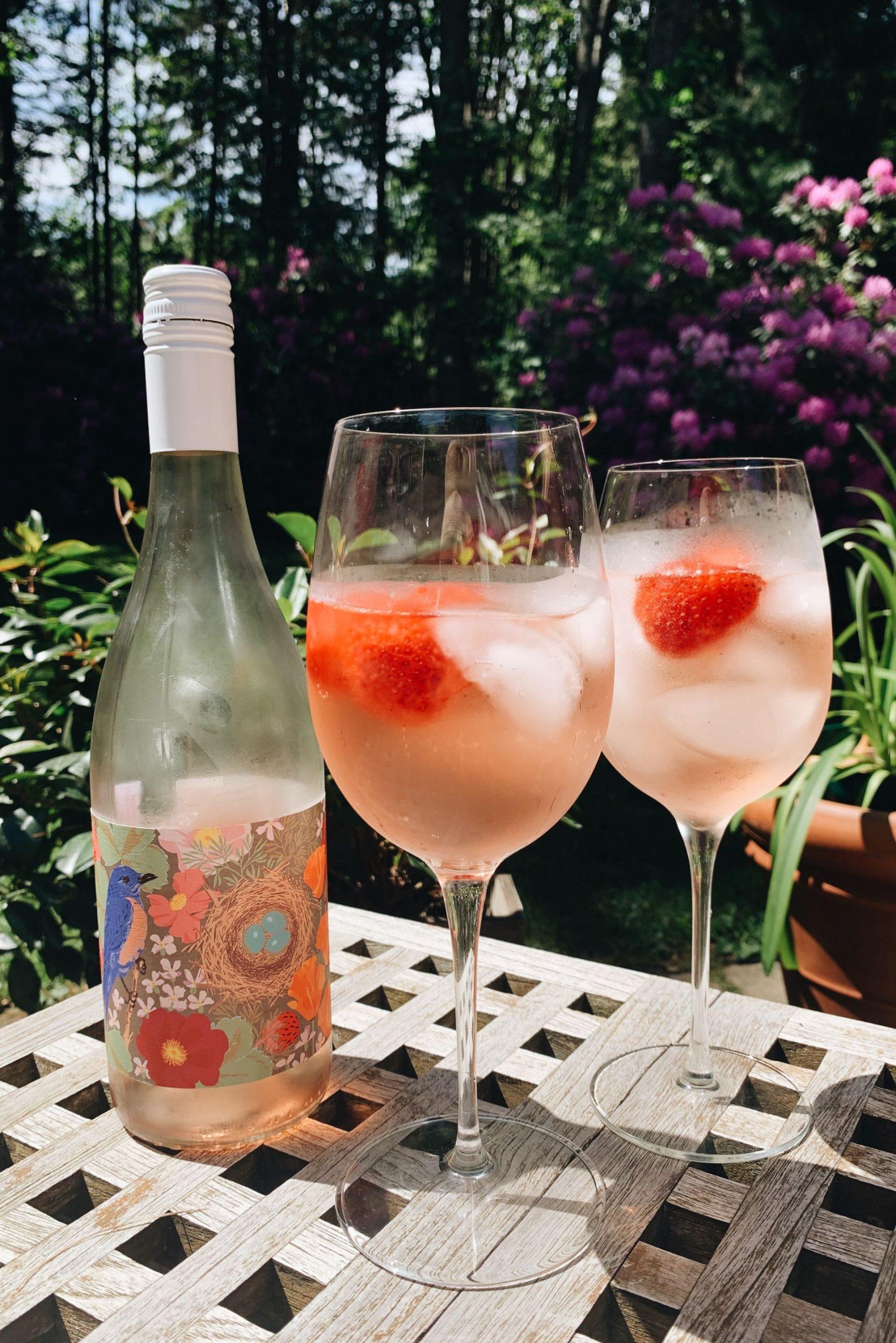 Anne Amie Rose wine