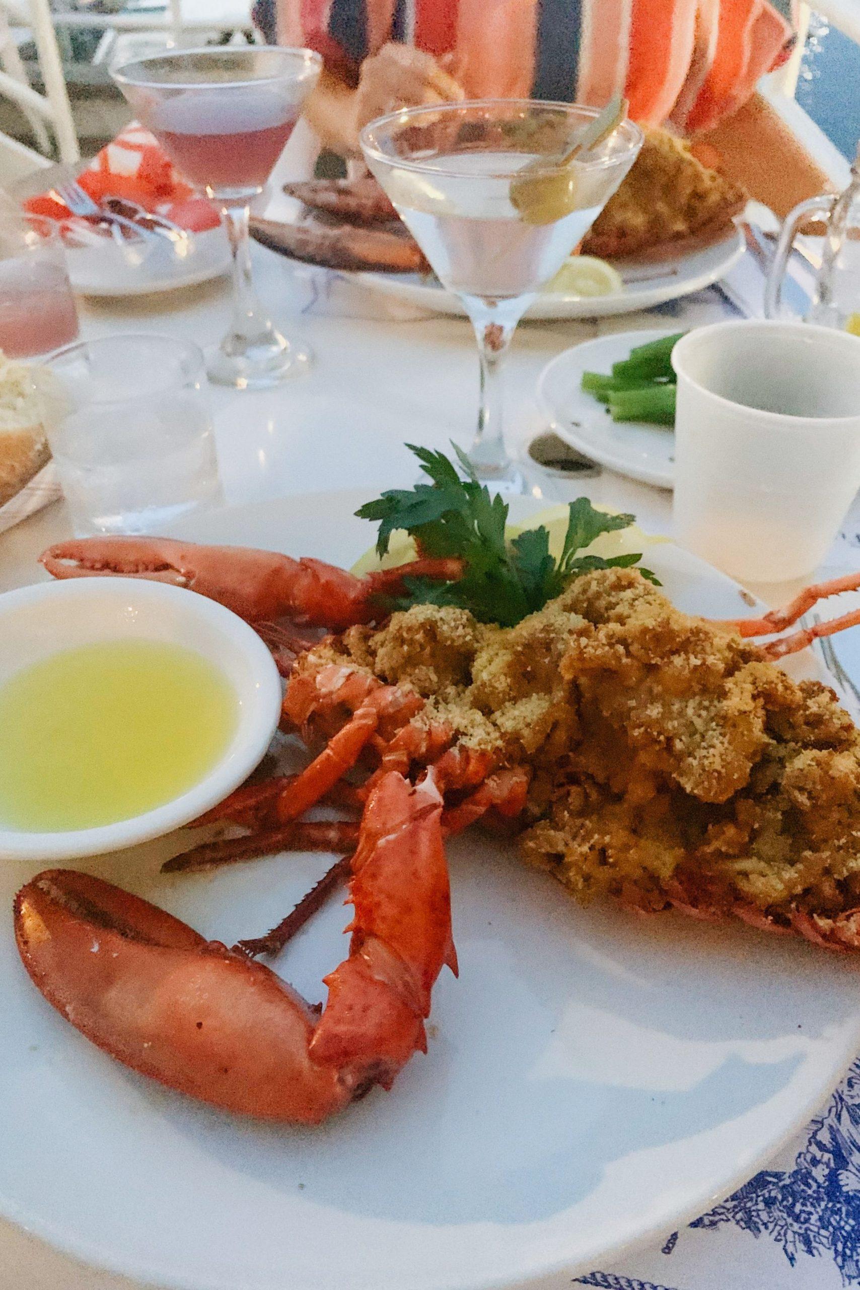 Baked Stuffed Lobster Flying Bridge Falmouth MA