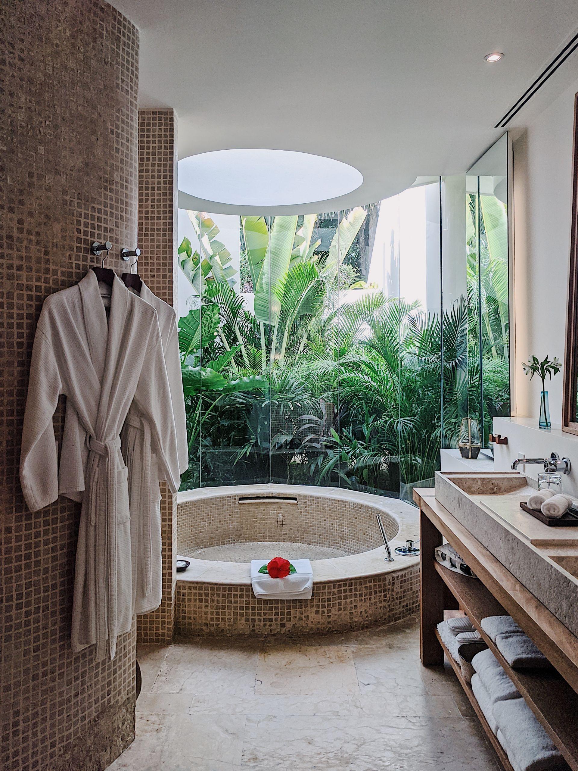 Bathroom at Rosewood Mayakoba