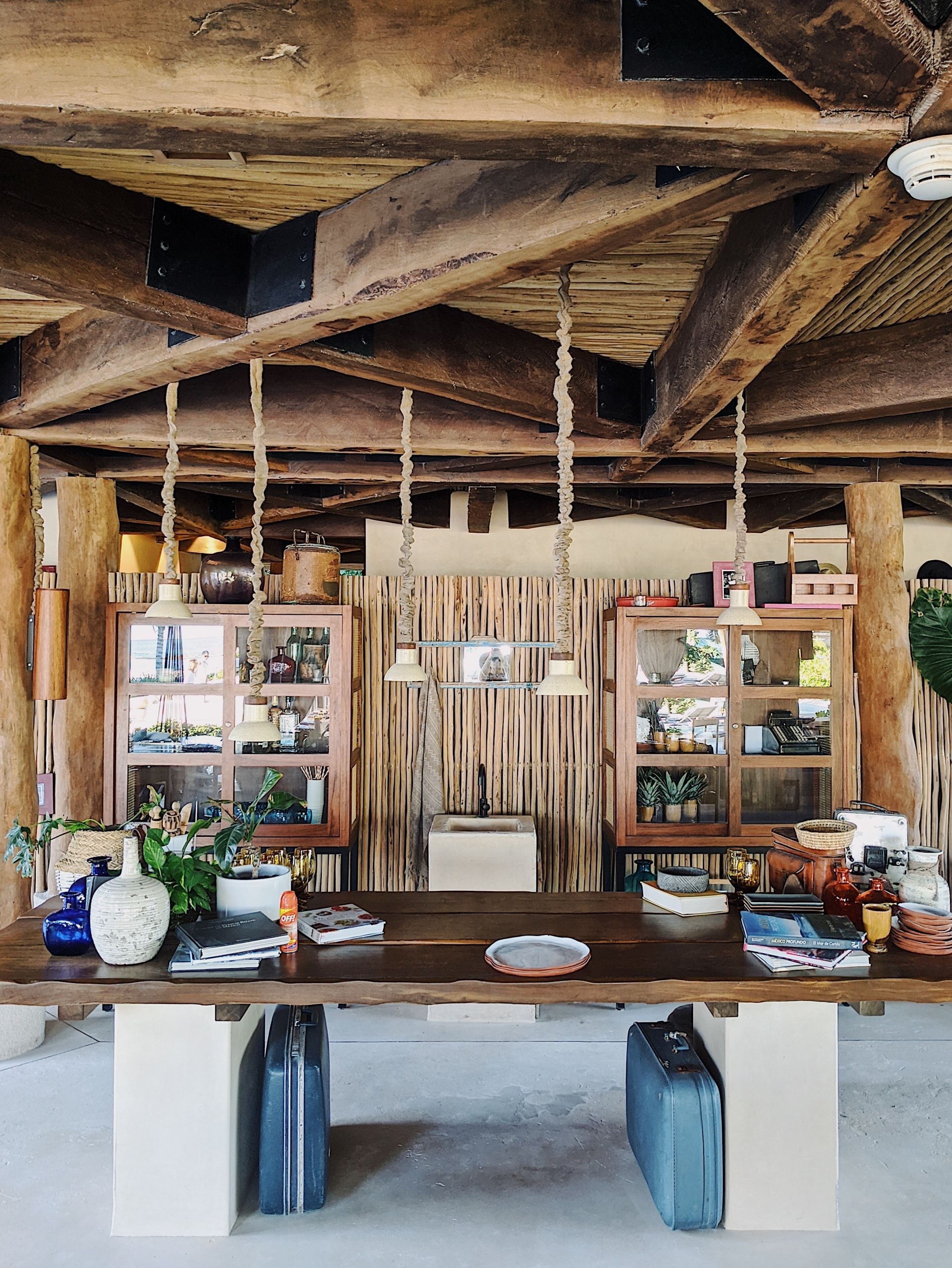 Beach restaurant at Rosewood Mayakoba