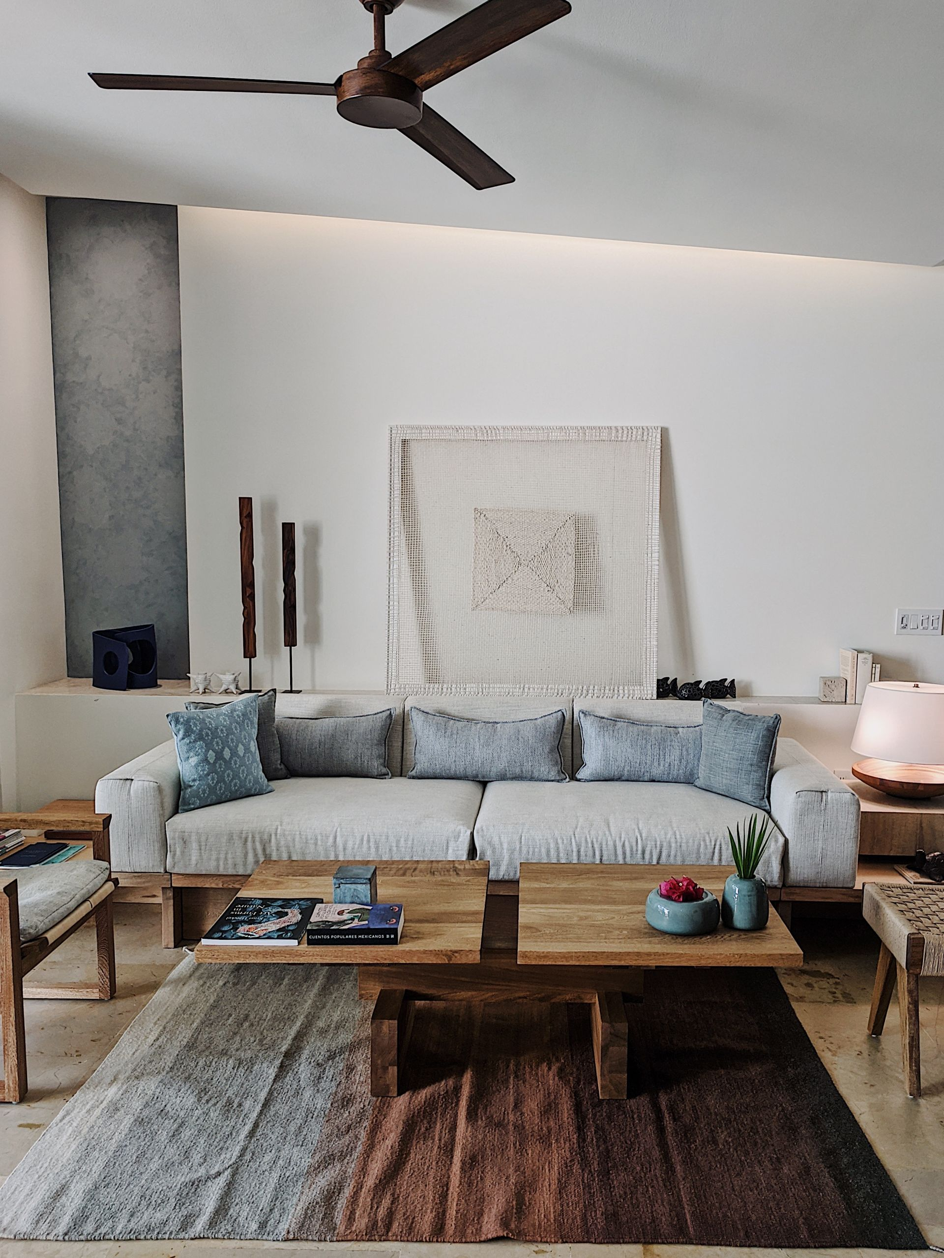Room interior at Rosewood Mayakoba